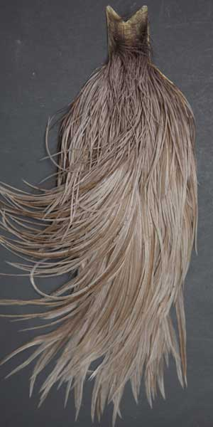 """10 NATURAL CREE  FEATHER HAIR EXTENSIONS 7/""""-9/"""" FLY TYING"""