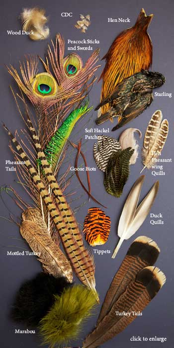 Fly Tying Body Plumage Grouse Feathers for making fishing flies Fast Delivery